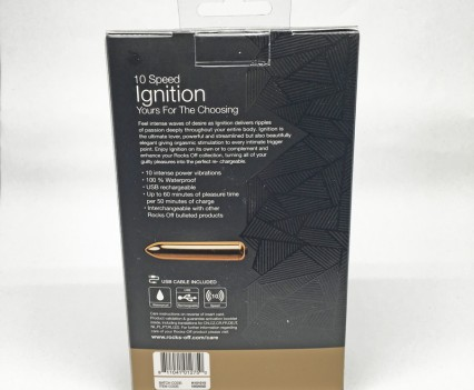 Rocks Off IGNITION 10 Speed Rechargeable Bullet