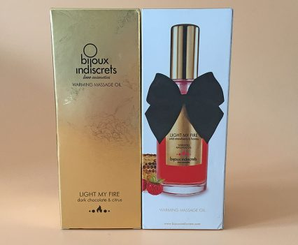 Bijoux Indiscrets Light My Fire Massage Oil