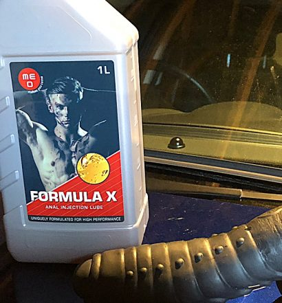 Formula X Anal Injection Lube