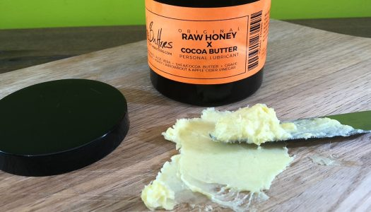 The Butters Raw Honey X Cocoa Butter Personal Lubricant