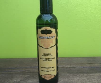 Kama Sutra Naturals Coconut Pineapple Massage Oil